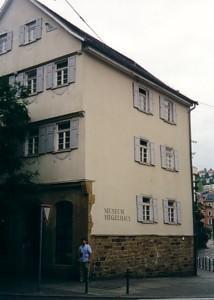 la casa di nascita di Hegel a Stoccarda