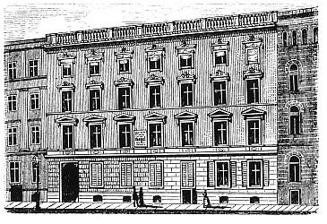 la maison de Hegel à Berlin - Am Kupfergraben 4a