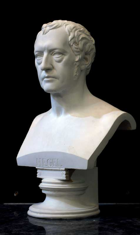 Hegel bust from the right