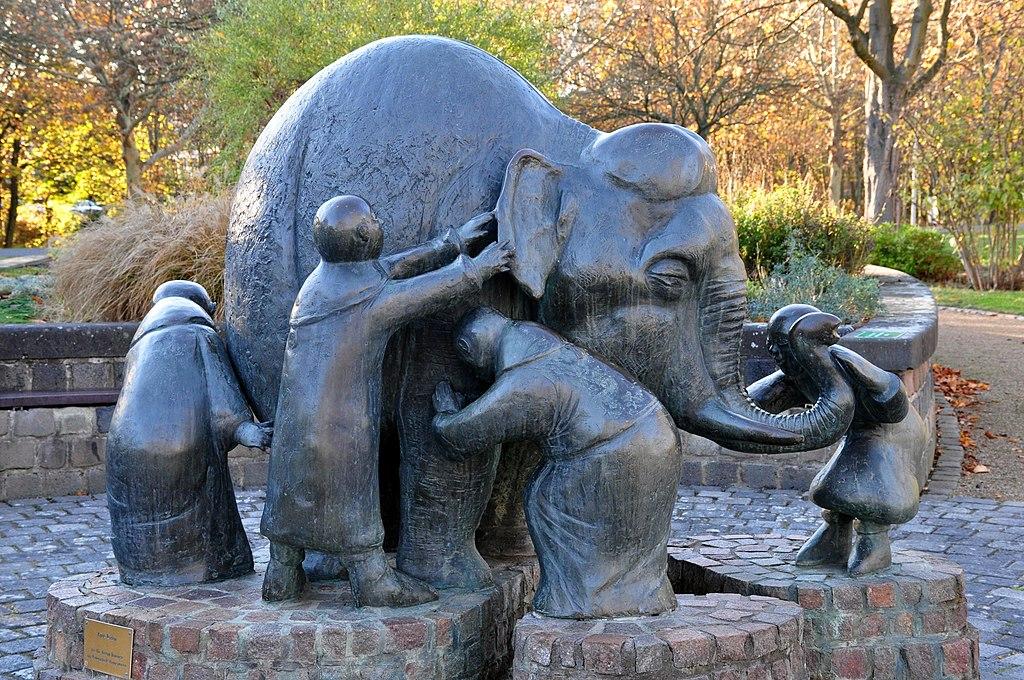 Der blinde Mann und der Elefant